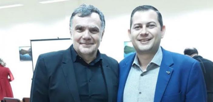 Συνεργασία του Αντιπεριφερειάρχη Θ. Βασιλόπουλου με τον Πρόεδρο του Διεθνούς Διαγωνισμού ΕλαιολάδουDr Antonio Giuseppe Lauro