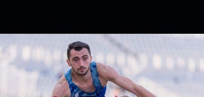 Ο Αγρινιώτης πρωταθλητής του Τριπλούν Σαράκης Κωνσταντίνος στο 34ο Πανελλήνιο Πρωτάθλημα Κλειστού Στίβου
