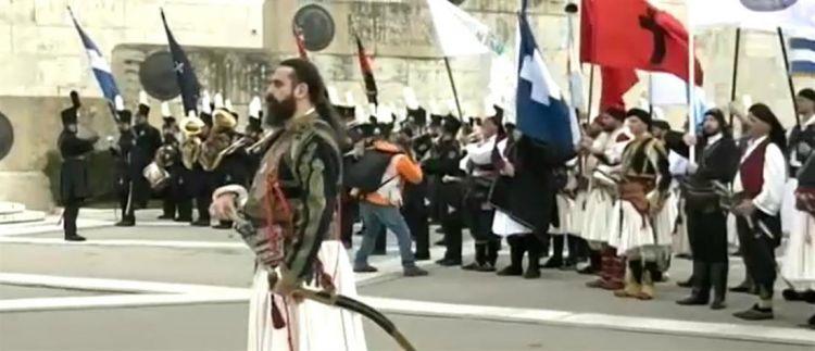 Iερός Λόχος: Ο εορτασμός για τα 199 χρόνια από την κήρυξη της Επανάστασης