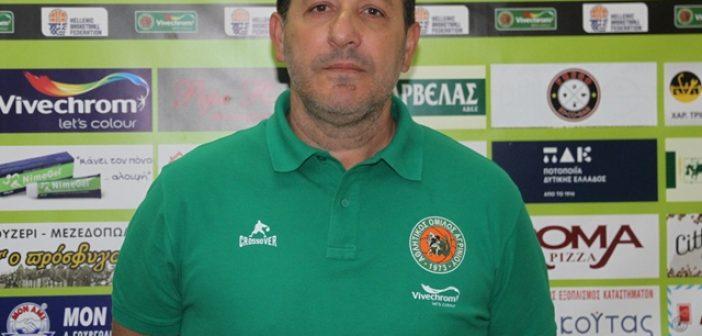 Α.Ο. Αγρινίου – Τάσος Σταμάτης: Στόχος μας να κερδίσουμε το παιχνίδι με τον Χ. Τρικούπη
