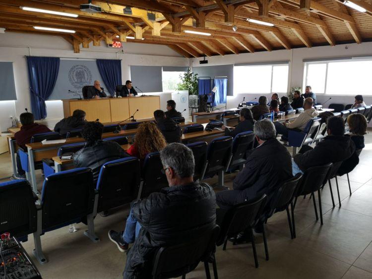 Συνάντηση με τους ιδιοκτήτες καταστημάτων εστίασης στο Δήμο Ι.Π. Μεσολογγίου (ΦΩΤΟ)