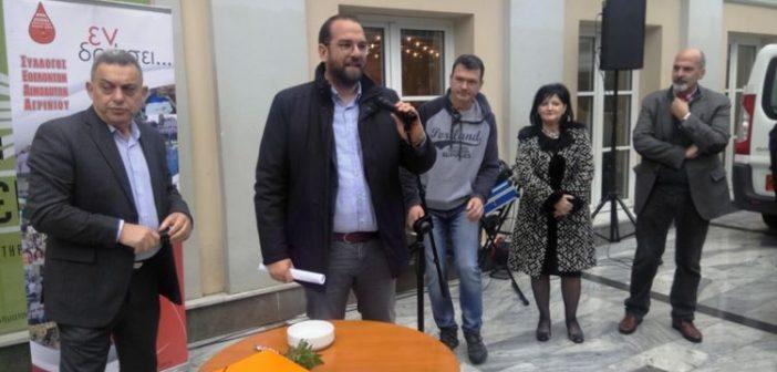 Αγρίνιο: Παραδόθηκε η Κινητή Μονάδα Αιμοληψίας από τον Νεκτάριο Φαρμάκη στην Π.Ε Αιτωλοακαρνανίας (ΔΕΙΤΕ ΦΩΤΟ + VIDEO)