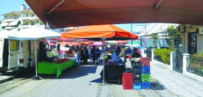 Αναστολή λειτουργίας της λαϊκής αγοράς του Σαββάτου και στο Αγρίνιο