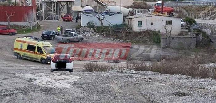 """Δυτική Ελλάδα: Νεκρός 37χρονος εργάτης που """"σφηνώθηκε"""" σε σιλό στο Λαμπίρι"""