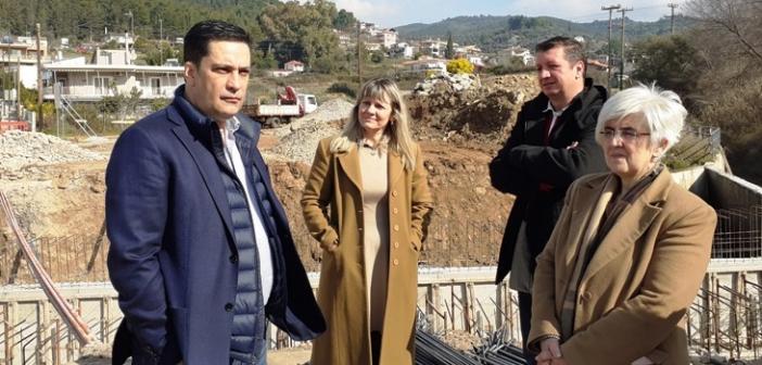 Αγρίνιο: Ο Γ. Παπαναστασίου στα έργα αντιπλημμυρικής προστασίας του χειμάρρου Λυκοραχίτη (ΔΕΙΤΕ ΦΩΤΟ)