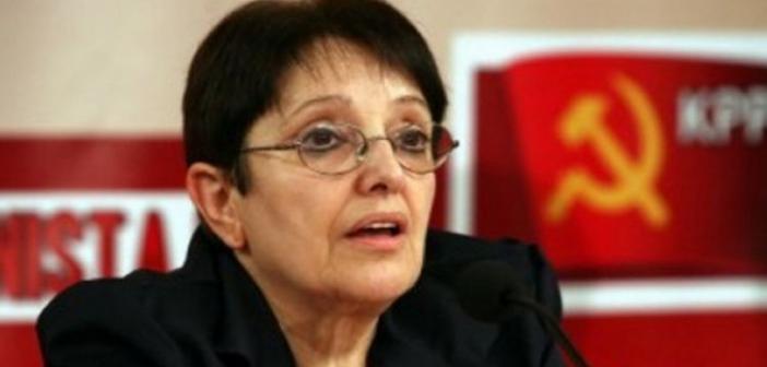 Η Αλέκα Παπαρήγα στο Αγρίνιο