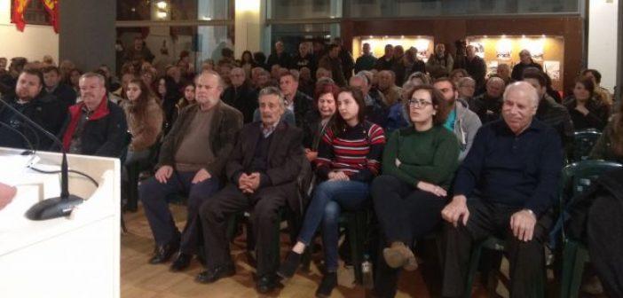 Στο Αγρίνιο η Αλέκα Παπαρήγα – Τι είπε κατά την ομιλία της (ΔΕΙΤΕ ΦΩΤΟ)