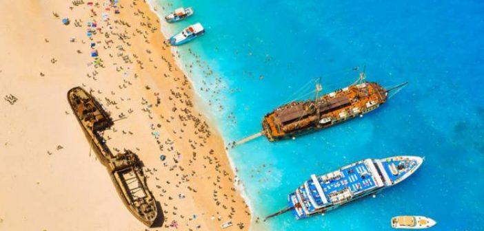 Αντιδρά ο ΕΟΤ για γερμανικό δημοσίευμα που παρουσιάζει το Ναυάγιο της Ζακύνθου στην Τουρκία