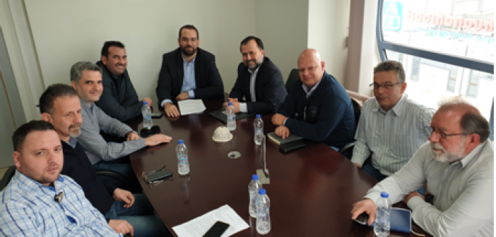 Συνάντηση Εργασίας Δ.Ε. ΤΕΕ Αιτωλοακαρνανίας με τον Περιφερειάρχη Δυτικής Ελλάδας