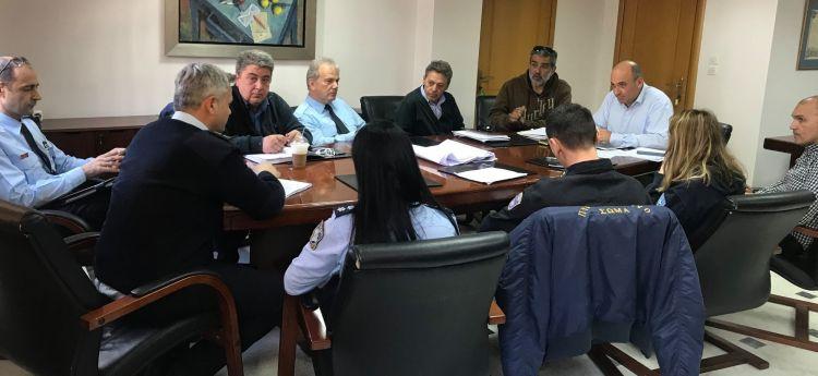 Ναύπακτος: Σύσκεψη στο δημαρχείο για την ανάπλαση (ΦΩΤΟ)