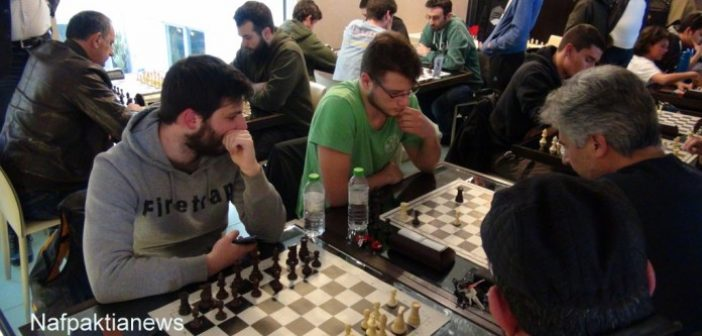 4o Πανελλήνιο Ράπιντ φιλιάς Σκακιού στη Ναύπακτο (ΦΩΤΟ + VIDEO)