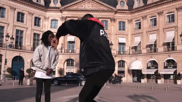Ο Θανάσης Αντετοκούνμπο «απάντησε» με το «Ζεϊμπέκικο της Ευδοκίας» σε Γάλλο χορευτή στον δρόμο (VIDEO)