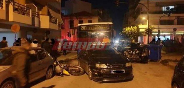 Δυτική Ελλάδα: Σοβαρό τροχαίο με λεωφορείο του Αστικού ΚΤΕΛ και αυτοκίνητα (ΦΩΤΟ + VIDEO)
