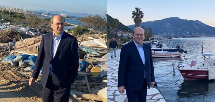 """Κ. Χατζηδάκης: """"Πριν το καλοκαίρι θα εξαφανιστούν όλες οι απαράδεκτες εικόνες απορριμμάτων στην Λευκάδα"""""""