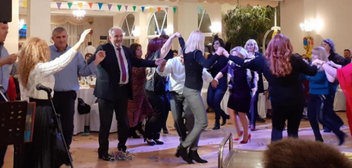 Η χοροεσπερίδα του Σωματείου Εργαζομένων του Δήμου Μεσολογγίου (ΔΕΙΤΕ ΦΩΤΟ)