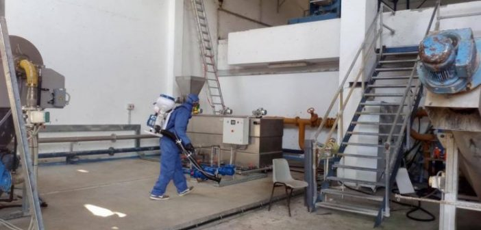 ΚΤΕΟ Αγρινίου: Με εντατικούς ρυθμούς συνεχίζονται οι απολυμάνσεις (ΦΩΤΟ)