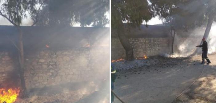 Αιτωλικό: Φωτιές, κλοπές και ακαθαρσίες στο δημοτικό στάδιο (ΔΕΙΤΕ ΦΩΤΟ)