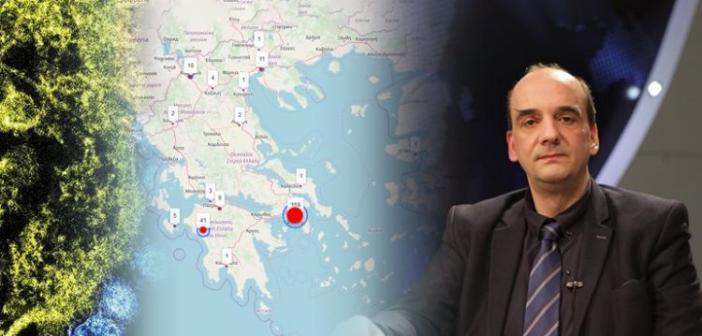 """""""Πλασματικά τα κρούσματα κορωνοϊού στην Ελλάδα"""" (VIDEO)"""