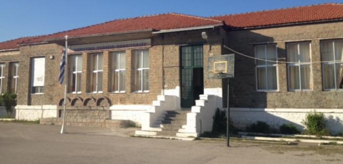 Διάρρηξη στο 1ο Δημοτικό σχολείο Παναιτωλίου
