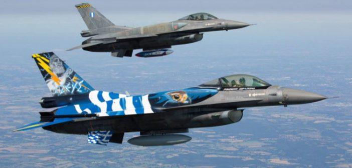 Παρέλαση μόνο από… αέρος – Διελεύσεις μαχητικών F-16 από Μεσολόγγι και Άκτιο