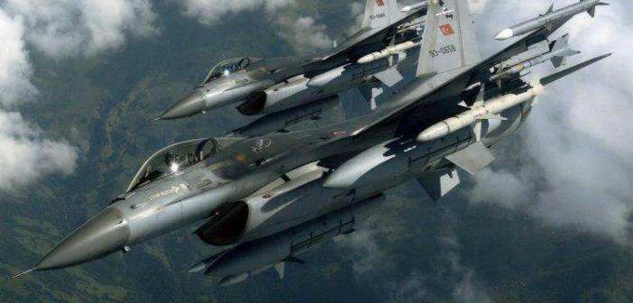 Αμετανόητα προκλητική η Άγκυρα! Τουρκικά F-16 πάνω από ελληνικά νησιά ανήμερα της 25ης Μαρτίου