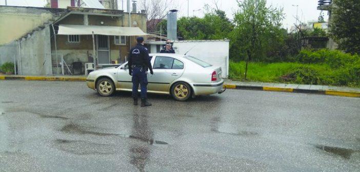 Αγρίνιο: 17 συνολικά παραβάσεις στο μέτρο της απαγόρευσης της κυκλοφορίας