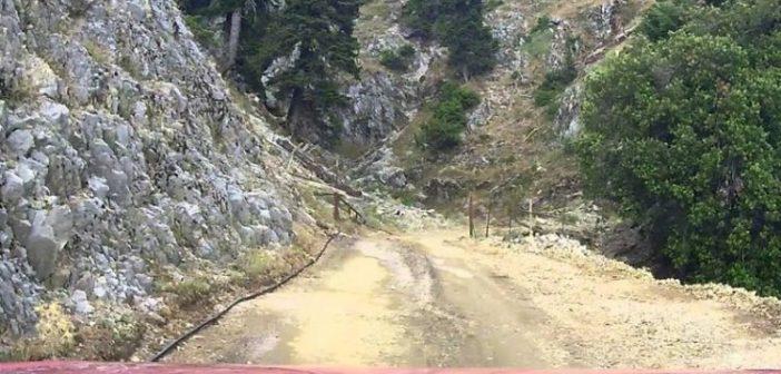 Ο πιο επικίνδυνος δρόμος της Ελλάδας είναι στην Αιτωλοακαρνανία! ΒΙΝΤΕΟ