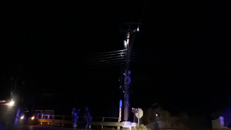 Καινούργιο: Διακοπή ρεύματος λόγω φωτιάς σε στύλο και black out από έκρηξη σε μετασχηματιστή(ΦΩΤΟ)