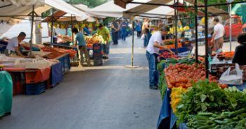 Αναστέλλονται έως 24 Μαρτίου 2020 οι λαϊκές αγορές Αμφιλοχίας και Λουτρού