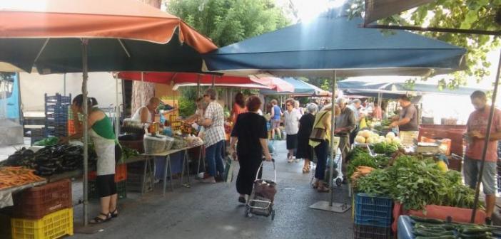 Ναύπακτος: Αυστηρά μέτρα στη λαϊκή αγορά για την προστασία των πολιτών