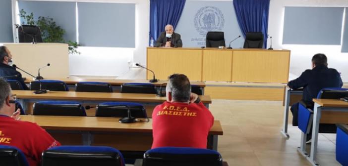 Κώστας Λύρος:Συνεχίζουμε με υπευθυνότητα την μάχη κατά του κορωνοϊού- Νέα σύσκεψη σήμερα στο Δημαρχείο Μεσολογγίου