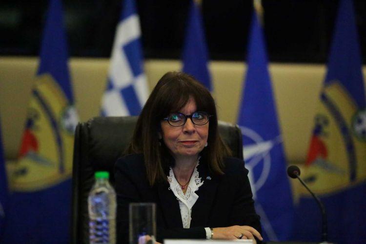 Διάγγελμα στον ελληνικό λαό θα απευθύνει η Πρόεδρος της Δημοκρατίας