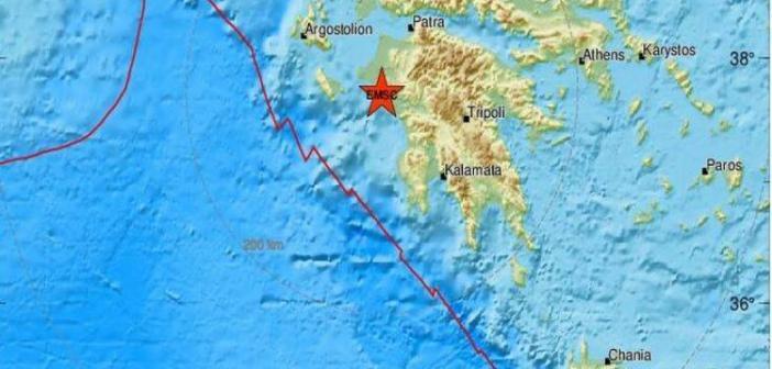 Σεισμός 4,3 Ρίχτερ στον Πύργο