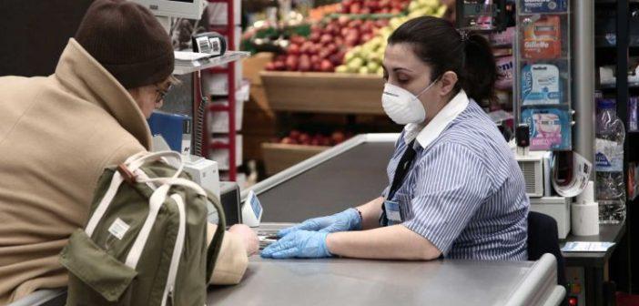 Σούπερ μάρκετ ανοιχτά 07:00 με 22:00 από αύριο! ΠΝΠ για ωράριο, αισχροκέρδεια και… αντισηπτικά