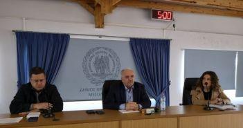 Σύσκεψη του Δημάρχου Κώστα Λύρου για τις Εορτές Εξόδου (ΦΩΤΟ)