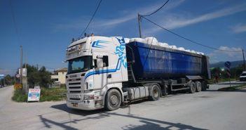 Συνεχίζεται η μεταφορά των σκουπιδιών της Λευκάδας στο Χ.Υ.Τ.Υ. Παλαίρου (ΔΕΙΤΕ ΦΩΤΟ)