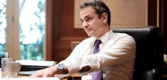 Συνέντευξη του Πρωθυπουργού Κυριάκου Μητσοτάκη  στην «Καθημερινή της Κυριακής» και στον Αλέξη Παπαχελά