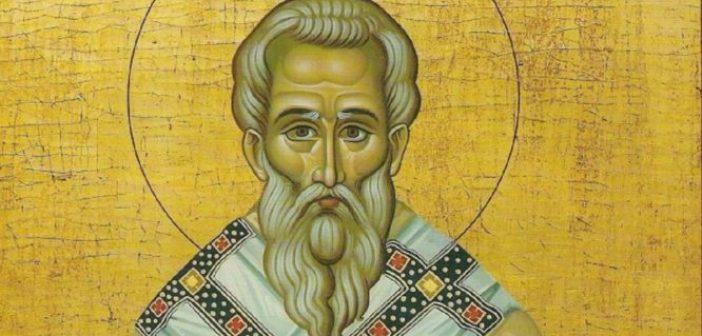 Άγιος Ευτύχιος: Ο πατριάρχης Κωνσταντινούπολης