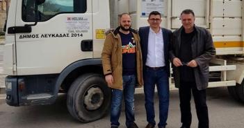 Δήμος Ξηρομέρου: Παράταση ένα μήνα στην δωρεάν παραχώρηση των δύο οχημάτων καθαριότητας από τον Δήμο Λευκάδας.