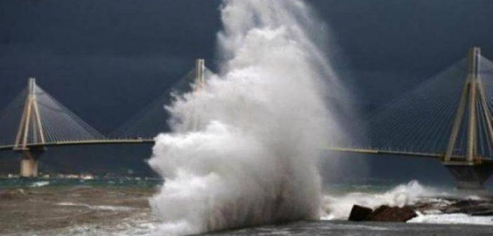 Ισχυροί άνεμοι για τρίτη μέρα – Κλειστό το πορθμείο Ρίου-Αντιρρίου