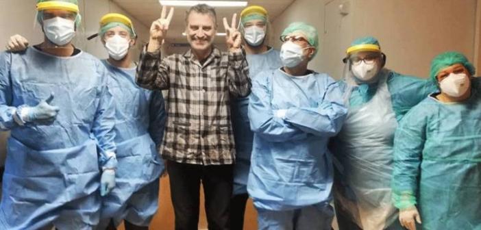 Βγήκε από το νοσοκομείο του Ρίου ο δημοσιογράφος Σωτήρης Γεωργούντζος!