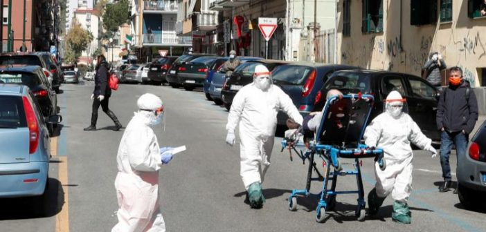 Ιταλία: Ο κορονοϊός σκότωσε άλλους 760