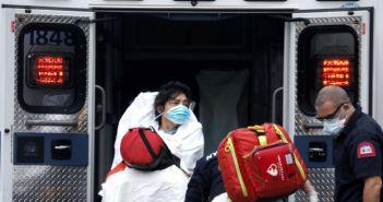 Νέα Υόρκη: Ρεκόρ θανάτων μέσα σε μια μέρα από τον κορονοϊό! Ακόμα 779