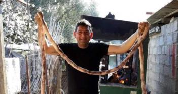 Καραΐσκάκη Ξηρομέρου:O Στάθης Μέντης έφτιαξε μεγαλύτερο σπληνάντερο (ΔΕΙΤΕ ΦΩΤΟ)