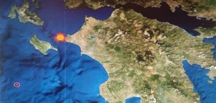 Σεισμική δόνηση αισθητή στην Πάτρα – Στην περιοχή της Κυλλήνης το επίκεντρο