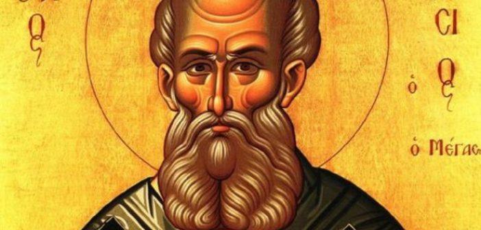Σήμερα τιμάται η ανακομιδή των Ιερών Λειψάνων του Αγίου Αθανασίου