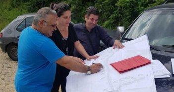 Αμφιλοχία: Εγκαταστάθηκε ο ανάδοχος του έργου ασφαλτόστρωσης Χρυσοράχης – Μονής Συγγενά
