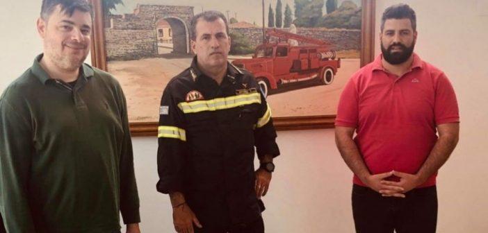 ΔΗΜ.ΤΟ. Μεσολογγίου: Δωρεά υγειονομικού υλικού στο πυροσβεστικό σώμα