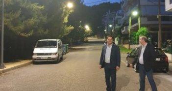 Αγρίνιο: Φωτιστικά σώματα υψηλής τεχνολογίας στην οδό Δυρού (ΔΕΙΤΕ ΦΩΤΟ)