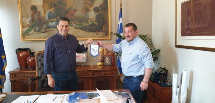 Δήμος Αγρινίου: Συνάντηση Γ. Παπαναστασίου με τον Πύρρο Δήμα